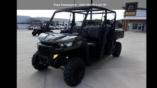 9. 2020 Can-Am® Defender MAX DPS™ HD8 Boreal Green