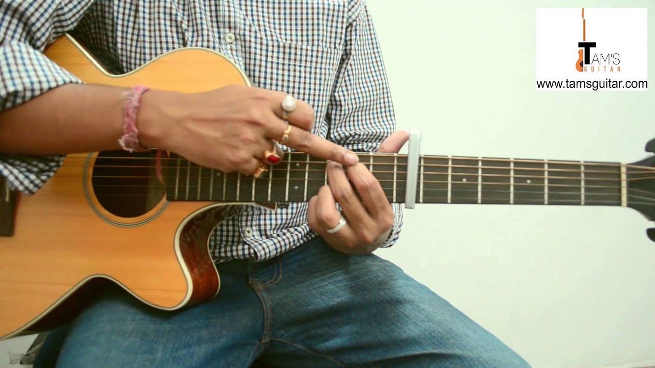 4 easy bengali songs guitar lesson in Bengali (www.tamsguitar.com)