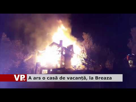 A ars o casă de vacanță, la Breaza