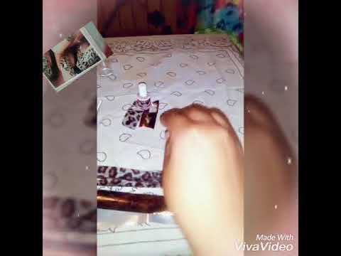 Diseños de uñas - Diseño de uña foil / ideas de uñas rosy nails