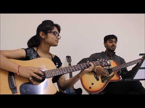Jeena Jeena Acoustic Guitar Cover By Disha & Jatin !!! (видео)