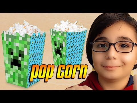 MINECRAFT'TA POPCORN ? | Minecraft: Build Battle Türkçe Mod BKT