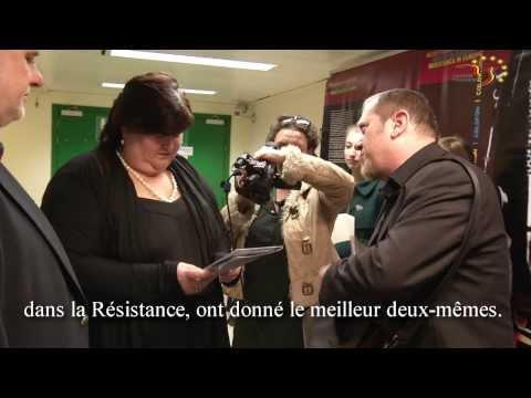 """Inauguration par Maggie De Block de l'exposition """"Résistance en Europe"""""""