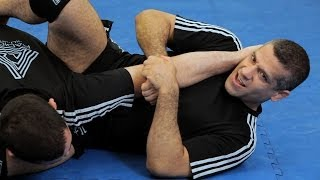 how to do inverted arm lock from guard  mma submissions