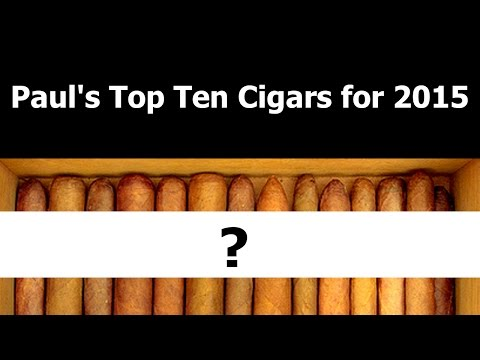 Stogie Geeks Shorts – Paul's Top Ten Cigars for 2015