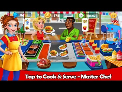 Hot Cooking Burger Restaurant - Cooking Games Android Gameplay