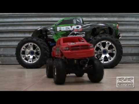 Losi Micro Crawler vs Savage X Pull Revo 5309 torque