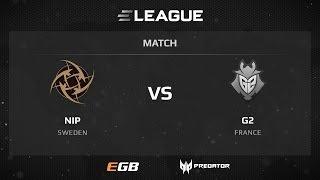 NiP vs G2, game 1