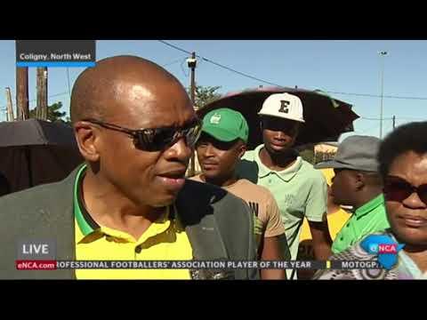 Premier Supra Mahumapelo in the North West