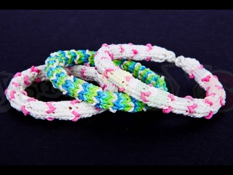 How to make the Hexafish Mini Hearts Variation – Rainbow Loom Tutorial, DIY