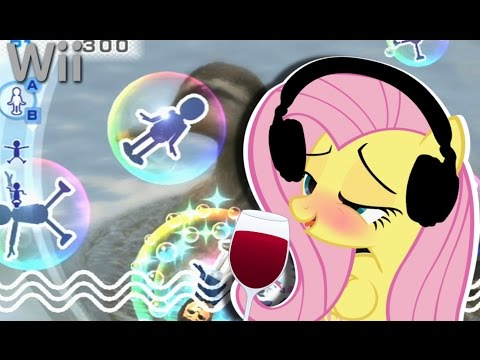 DRUNK Fluttershy Plays The Wii 🍉 | HAPPY NWE YAERS!