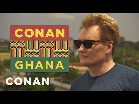 Conan's Ghanaian History Lesson - CONAN on TBS