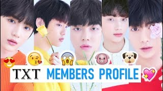 Video TXT Members Profile (Birth Name, Position, Facts...) MP3, 3GP, MP4, WEBM, AVI, FLV Januari 2019