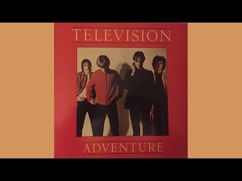 """Television   Adventure + 12"""" Single 'Foxhole"""" (full album) (VINYL)"""