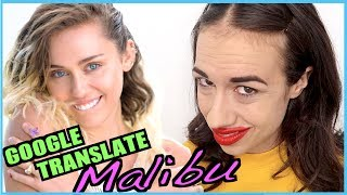I put the lyrics to Malibu by Miley Cyrus into google translate and changed it into Scottish, Norwegian, welsh, and all the other places I'm going on tour and then back to endligh. I got this idea from Jimmy Fallon and Malinda Kathleen Reese. Suscibre to her - https://www.youtube.com/user/malineka146Follow all my thingsTwitter - http://www.twitter.com/mirandasingsFacebook - https://www.facebook.com/mirandasingsofficialyoutube - http://www.youtube.com/mirandasings08Instagram - http://instagram.com/mirandasingsofficialVine - https://vine.co/u/9354589209175490564 tickets to my show. gO to my website: MirandaSings.comget my book - http://www.mirandasings.comget my merchandizze - http://mirandasings.spreadshirt.com/
