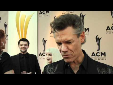 On the Carpet with Randy Travis at ACM Honors