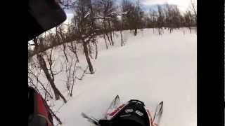 11. Hill Climb Crash, Polaris PRO-R Switchback 800 2012