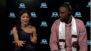 /Patrick Patterson Chats with Kat at Players' Gala presented by BlackBerry