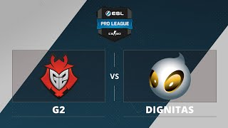 G2 vs Dignitas, game 1