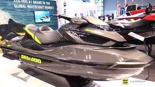 3. 2015 Sea-Doo GTX Limited iS 260 Jet Ski - Walkaround - 2015 New York Boat Show