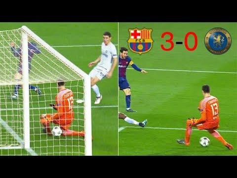 Barcelona vs Chelsea 3-0 Champions League - All Goals & Highlights 14/03/2018 HD