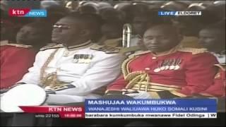 President Uhuru Kenyatta's Full Speech In Eldoret In Honor Of Kenyan Soldiers Killed In Somalia