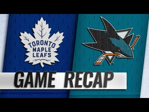 Video Kapanen scores twice to help Leafs top Sharks, 5-3 download in MP3, 3GP, MP4, WEBM, AVI, FLV January 2017
