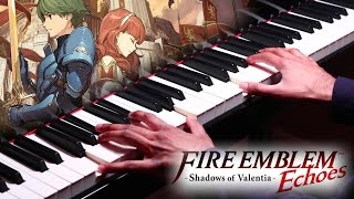 """Follow me on Twitter: https://twitter.com/HariSivanMusicThis is my piano cover of the Title Screen music from Fire Emblem Echoes: Shadows of Valentia. I play through the progression 3 times. This game is a remake of Fire Emblem Gaiden. Fire Emblem Echoes: Shadows of Valentia OST was composed by Takeru Kanazaki, Yasuhisa Baba, Takafumi Wada, and Sho Murakami. Please show your support by subscribing.My other Fire Emblem piano covers:""""Such bonds are the true strength of this army."""" (Synthesia)★ https://youtu.be/-LyiOaupuqQEchoes: Shadows of Valentia - In a Silver Garden with You (Synthesia)★ https://youtu.be/dMlLJQezS7UEchoes: Shadows of Valentia - In a Silver Garden with You★ https://youtu.be/LJVFP2HsiWMEchoes: Shadows of Valentia - Title Screen (Synthesia)★ https://youtu.be/c-ZXAPRW_c8""""......"""" (Synthesia)★ https://youtu.be/rx71JVeA_wgGrief (Synthesia)★ https://youtu.be/Mn50Yzdn27oThe Water Maiden (Synthesia)★ https://youtu.be/ouqkujdsxnU""""Farewell... my friends..."""" (Synthesia)★ https://youtu.be/LLQyYUfjGiA""""Such bonds are the true strength of this army.""""★ https://youtu.be/RA6yanYKVdk""""Farewell... my friends...""""★ https://youtu.be/zMEehvJC_6cAqua's Song (if-Hitori Omou) (Synthesia)★ https://youtu.be/so1y8WG37VUThe Water Maiden★ https://youtu.be/ML-RnHbiNgY""""......""""★ https://youtu.be/rJaAQ3qLSAs""""Don't speak her name!"""" (Synthesia)★ https://youtu.be/EArU5NoEPpwAqua's Song (if-Hitori Omou)★ https://youtu.be/CW4HjF0jaksGrief★ https://youtu.be/EseG01jvtHs""""You deserved better from me than one sword."""" (Synthesia)★ https://youtu.be/ze6YJglQx2sId (Purpose)★ https://youtu.be/T_kwPSha3E4Conquest★ https://youtu.be/xZJIU_mcYNg""""You deserved better from me than one sword.""""★ https://youtu.be/GTdUx0yXgEU""""You may call me Marth.""""★ https://youtu.be/rW3VSe6KK0A""""And what if I can't? What if I'm not worthy of her ideals?""""★ https://youtu.be/bQfYuIGy0HA""""Don't speak her name!""""★ https://youtu.be/y5QsNgn8HVM Performed by Hari SivanRecorded: May 20th 2017"""