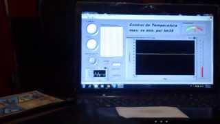 Software: ::: LabVIEW 2012 - National Instruments (Demo) Hardware: ::: Prototipo de una incubadora de bebe ::: Sensor LM35 y...