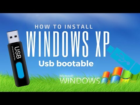 How to Install Windows XP from a USB Flash Drive