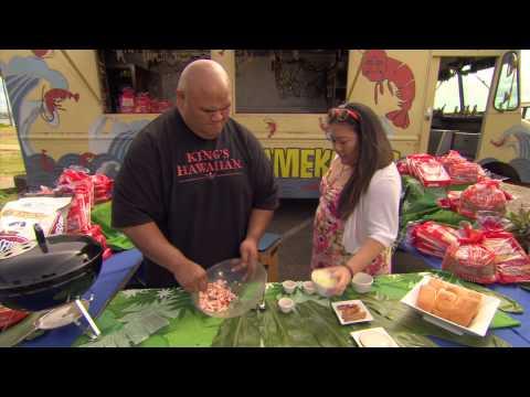 King's Oh So Sweet Hawaiian Recipes – Shrimp Roll