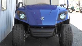 5. 2012 Yamaha DRIVE PTV 48V Electric Golf Cart Tanzanite Blue
