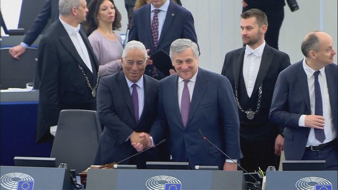 Ο Πορτογάλος πρωθυπουργός Αντόνιο Κόστα στο ΕΚ