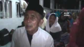 Warga Tarekat Syattariyah di Nagan Raya Mulai Takbiran