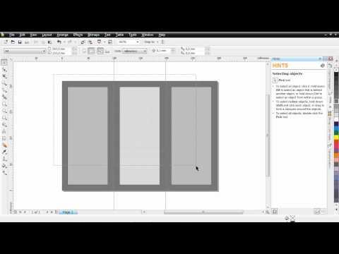 cara membuat brosur lipat 3 coreldraw x4 mp4 cara membuat