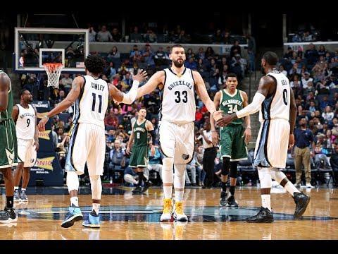 Memphis Grizzlies' Top 20 Plays of the 2016-2017 NBA Season