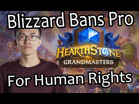 Blizzard Suspends Hearthstone Pro For Supporting Basic Human Rights   Hong Kong