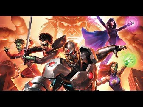 Justice League vs Teen Titans - Review