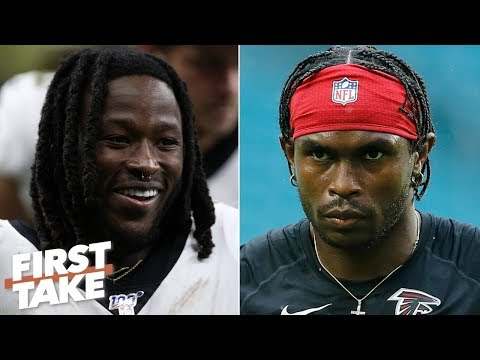 Video: Alvin Kamara is better than Julio Jones - Damien Woody | First Take