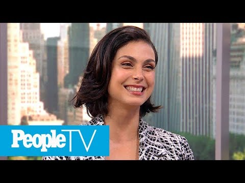 'Deadpool 2′  Star Morena Baccarin Dishes On Kissing Ryan Reynolds | PeopleTV