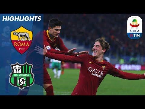 Roma 3-1 Sassuolo | Perotti, Schick & Zaniolo Netted To Guide Roma To 3-1 Win | Serie A