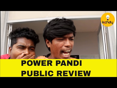 தெறிக்க விட்ட இயக்குனர் தனுஷ்    Power Pandi Public Review  Dhanush  Rajkiran  Madonna   Kichdy
