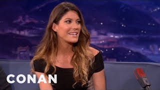 Jennifer Carpenter Interview 12/05/12 - CONAN on TBS