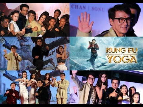 Kung Fu Yoga Press Conference Mumbai With Jackie Chan, Sonu Sood, Disha Patani & Amyra Dastur