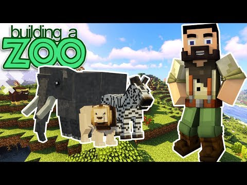 I'm Building A Zoo In Minecraft! - Getting Started - EP01