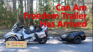 1. The Can Am Freedom Trailer Has Arrived
