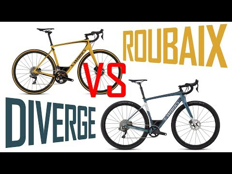 SPECIALIZED ROUBAIX VS DIVERGE - whats the difference?