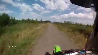 3. KX250F Top Speed Test  (GPS VERIFIED)