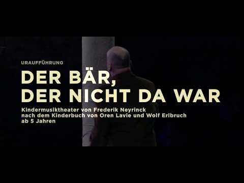 DER BÄR, DER NICHT DA WAR von Frederik Neyrinck  - Premiere 18.11.2017