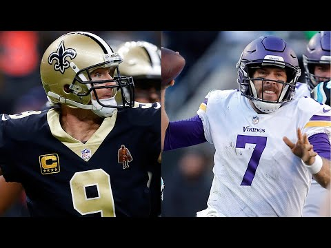 Video: Vikings' defense might be enough to slow Saints